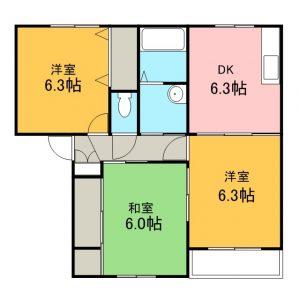 A・B棟2号室